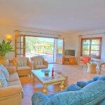 Villa Mallorca MA4680 Sitzecke im Wohnzimmer