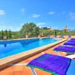 Villa Mallorca MA4680 Sonnenliegen am Pool