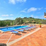 Villa Mallorca MA4680 Terrasse um den Pool