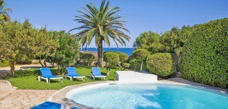 Mallorca Südost – Ferienhaus Cala D'Or 4797 mit Pool direkt am Meer, Strand 450m, Grundstück 1.500qm, Wohnfläche 200qm. An- und Abreisetag nur Samstag. Mindestmietzeit 1 Woche.