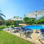 Ferienhaus Mallorca MA2004 Pool mit Gartenmöbel