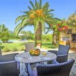 Ferienhaus Mallorca MA2004 Sitzecke auf der Terrasse