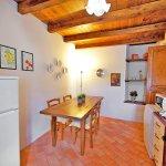 Ferienhaus Toskana TOH402 Tisch in der Küche