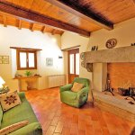 Ferienhaus Toskana TOH402 Wohnraum