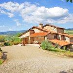 Ferienhaus Toskana TOH402 Zufahrt zum Haus