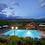 Ferienhaus Toskana TOH402 beleuchteter Pool