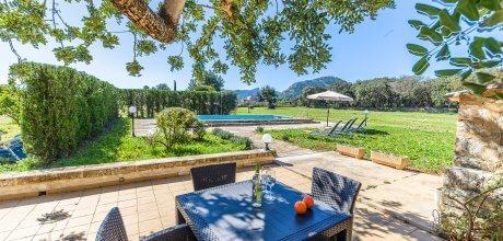 Mallorca Nordküste – Ferienhaus Puerto Pollensa 2170 mit Pool für 4 Personen. Strand = 2 km, An- und Abreise flexibel auf Anfrage – Mindestmietzeit 1 Woche.