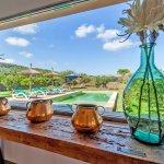 Ferienhaus Mallorca MA3481 Blick in den Garten