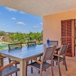Ferienhaus Mallorca MA3481 Esstisch auf der Terrasse