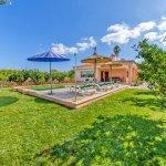 Ferienhaus Mallorca MA3481 Garten mit Pool