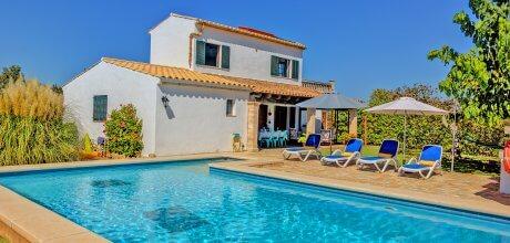 Mallorca Nordküste – Ferienhaus Alcudia 3482 mit Pool und Internet für 6 Personen, Strand = 4 km. An- und Abreisetag flexibel auf Anfrage – Mindestmietzeit 1 Woche.