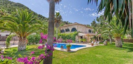 Mallorca Nordküste – Finca Pollensa 4590 für 8 Personen mit Pool und Internet, Strand = 7km, Wechseltag Samstag.