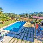Ferienhaus Mallorca MA2171 Blick auf den Pool