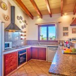 Ferienhaus Mallorca MA2171 Küche