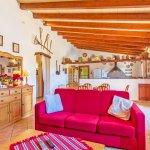 Ferienhaus Mallorca MA2171 Sitzecke im Wohnraum