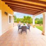 Ferienhaus Mallorca MA4770 überdachte Terrasse