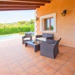 Ferienhaus Mallorca MA4770 Gartenmöbel auf der Terrasse