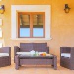Ferienhaus Mallorca MA4770 Sitzecke auf der Terrasse