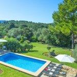 Finca Mallorca MA33777 Blick auf den Pool