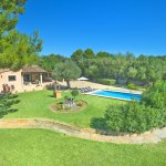 Finca Mallorca MA33777 Garten mit Pool
