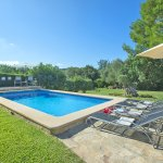 Finca Mallorca MA33777 Garten mit Pool (2)