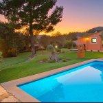 Finca Mallorca MA33777 Pool und Garten beleuchtet