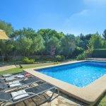 Finca Mallorca MA33777 Sonnenliegen am Pool