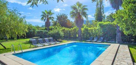 Mallorca Nordküste – Finca Pollensa 43775 für 8 Personen mit privatem Pool und Internet, Strand = 9 km. An- und Abreisetag Samstag.