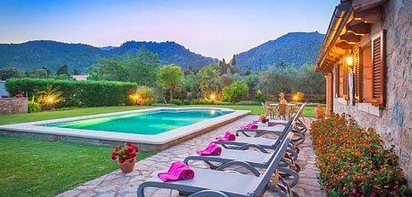 Mallorca Nordküste – Ferienhaus Pollensa 3151 mit Internet und Pool für 5 Personen mieten. An- und Abreisetag Samstag.