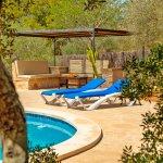 Ferienhaus Mallorca MA3966 Gartenmöbel am Haus