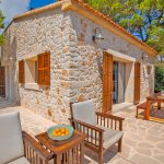 Ferienhaus Mallorca MA3966 Gartenmöbel auf der Terrasse