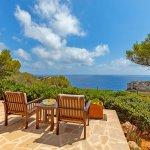 Ferienhaus Mallorca MA3966 Meerblick von der Terrasse