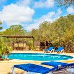 Ferienhaus Mallorca MA3966 Sonnenliegen am Pool