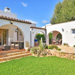 Ferienhaus Mallorca MA3970 Rasen am Haus