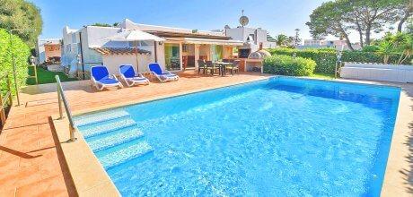 Mallorca Südostküste – Ferienhaus Cala D'Or 3970 mit Pool und Internet in Strandnähe (300m) mieten. An- und Abreisetag Samstag.