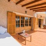 Finca Mallorca MA2044 Gartenmöbel auf der Terrasse