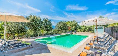 Mallorca Nordküste – Villa Alcudia für 12 Personen mit privatem Pool und sep. Whirlpool, Strand = 2,5 km. An- und Abreisetag Samstag.