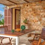 Ferienhaus Mallorca MA1100 Esstsich auf der Terrasse