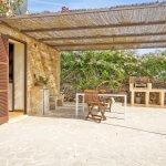 Ferienhaus Mallorca MA1100 Gartenmöbel auf der Terrasse