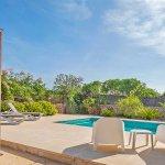 Ferienhaus Mallorca MA1100 Terrasse mit Pool