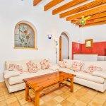 Ferienhaus Mallorca MA2020 Sitzecke im Wohnraum