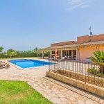 Ferienhaus Mallorca MA3034 Garten mit Pool (2)