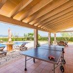 Ferienhaus Mallorca MA3034 Terrasse mit Tischtennisplatte