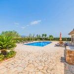 Ferienhaus Mallorca MA3034 Terrasse um den Pool