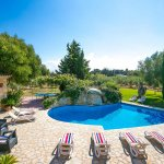 Finca Mallorca MA4313 Blick auf den Pool
