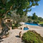 Finca Mallorca MA4313 Garten mit Pool