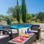 Finca Mallorca MA4313 Terrasse mit Sitzecke