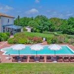 Villa Toskana TOH940 Blick auf den Pool