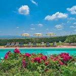 Villa Toskana TOH940 Blumen am Pool