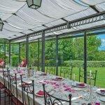 Villa Toskana TOH940 Esstisch im Wintergarten